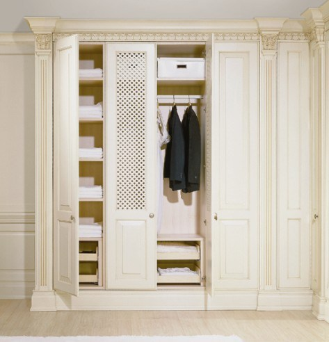 Magnificent and Luxury Solid Wood Wardrobe (TIVOLI 007A)