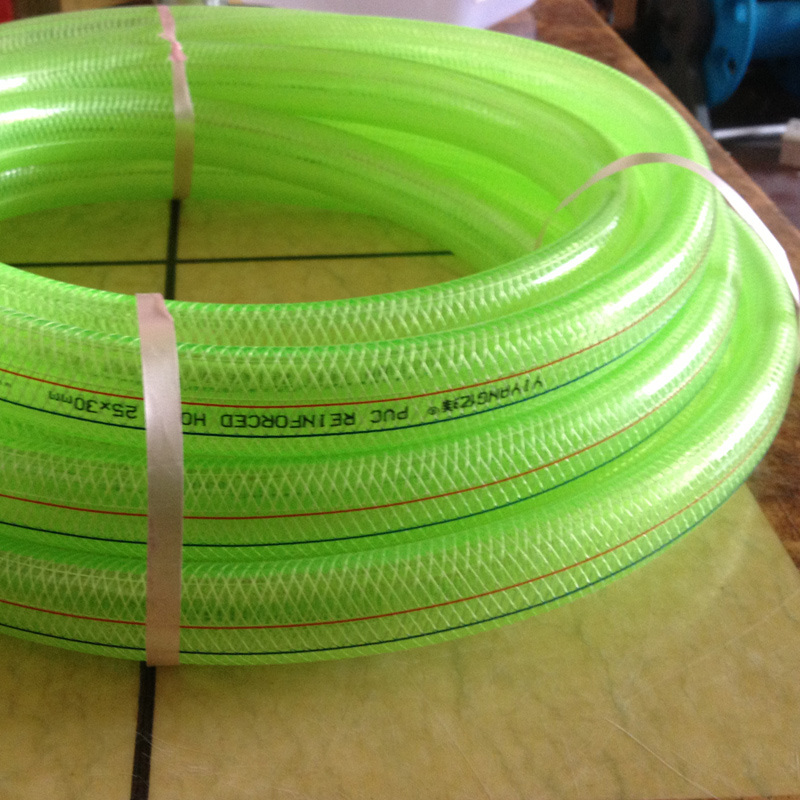 Clear PVC Transparent Braid Fiber Reinforced Hose