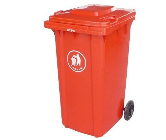 Multicolor 240L Mobile Garbage Bin