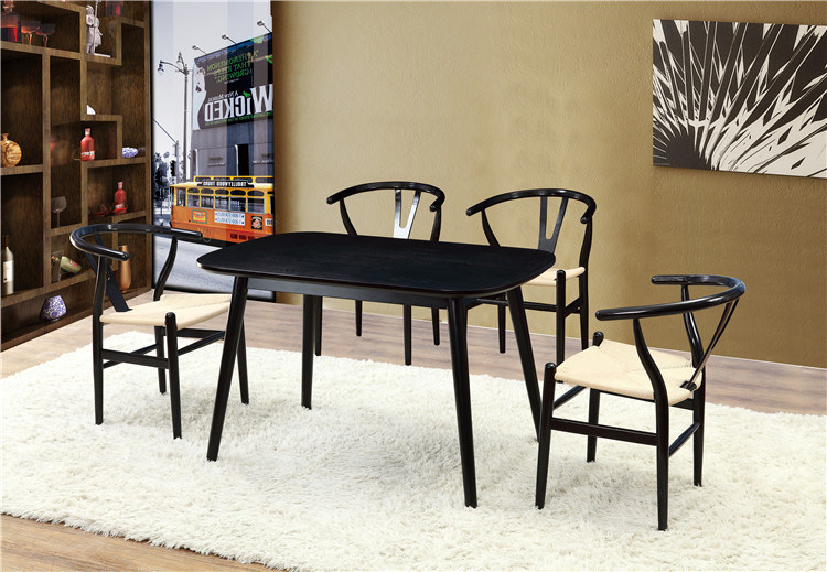 Luxury Hotel Dining Set Solid Wood Furniture (FOH-BCA58)