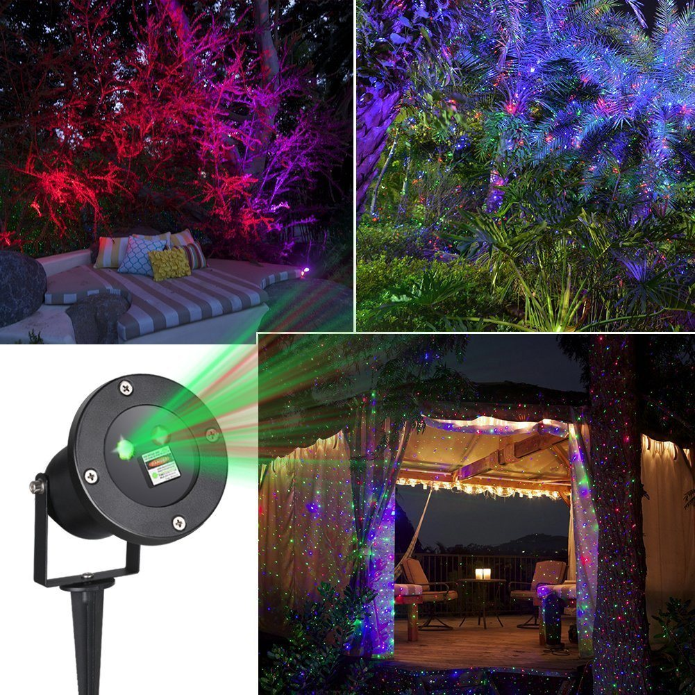 Solar Garden Laser Light for Party