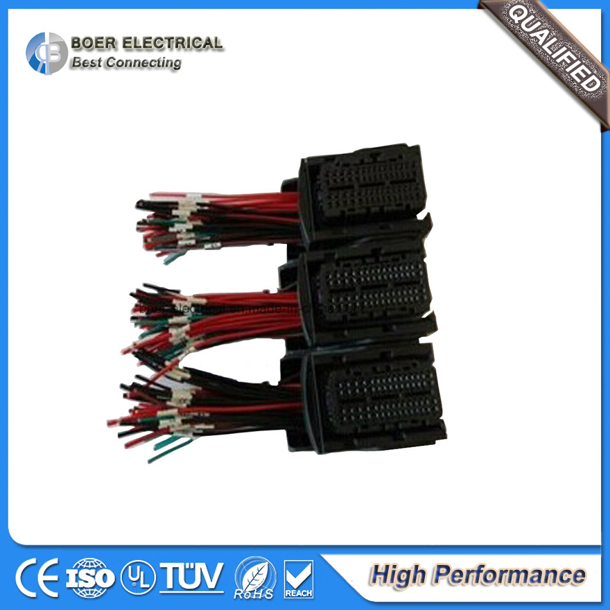 Auto Diesel ECU Connector Wiring Assembly Cable Wire Harness