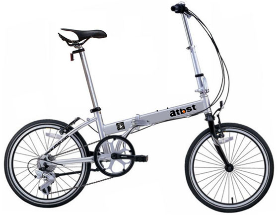 Simple Folding Bike Easy Carrying Folded Bicycle Family Scooter Vehicle Monca Best Quality