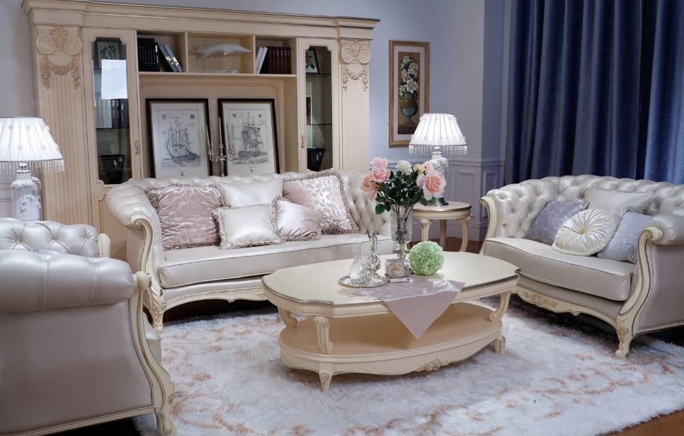 China European Leather Sofa Set Jlbh074 China Sofa Set