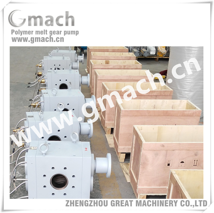 High Pressure Melt Pump Used for Plastic Pipe Extrusion Line