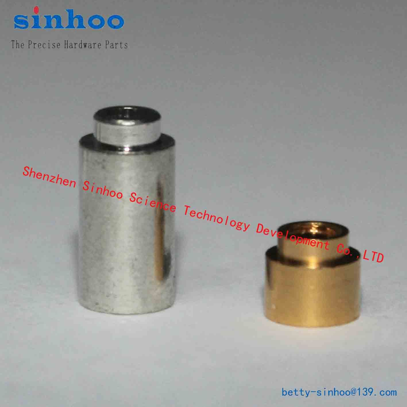 Smtso-M2.5-10et, SMD Nut, Weld Nut, Reelfast/Surface Mount Fasteners/SMT Standoff/SMT Nut, Brass Reel