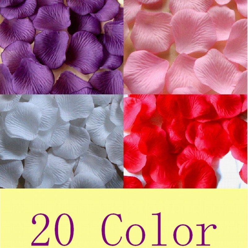 china wedding petals silk rose petal china wedding. Black Bedroom Furniture Sets. Home Design Ideas