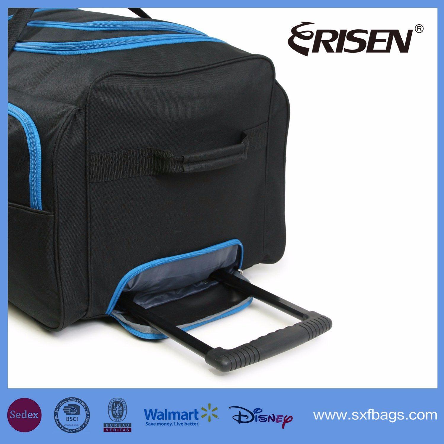 Waterproof Wheeled Trolley Fashion Leisure Travel Luggage Duffel Bag