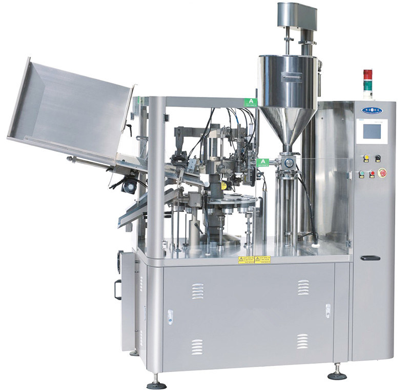 Toothpaste Filling and Sealing Machine