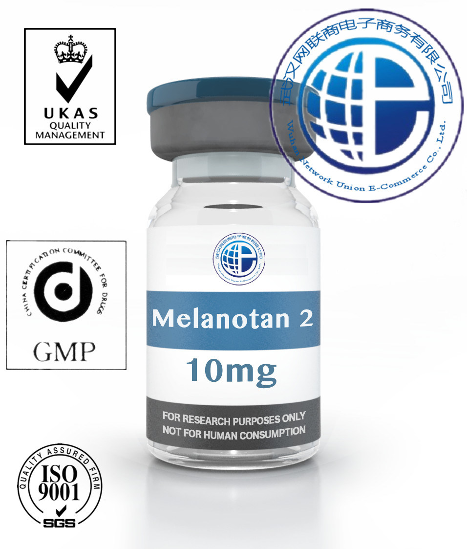 Skin Tanning 10mg/Vial Anti-Aging Hormone Growth Peptides 121062-08-6 Melanotan 2