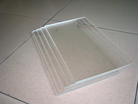 Clear plastic sheets 4x8