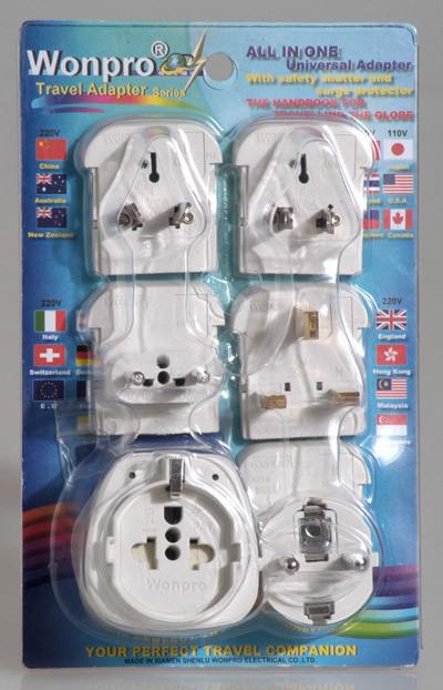 Universal Travel Adaptor OASTGF-P5VS(Socket, Plug)