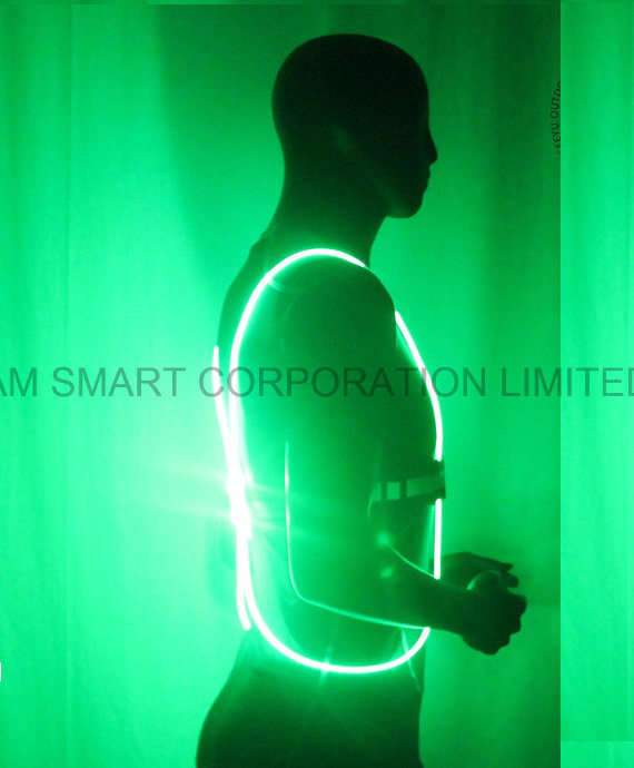 High Visibility Fluorescent Running LED Vest Reflective Vest