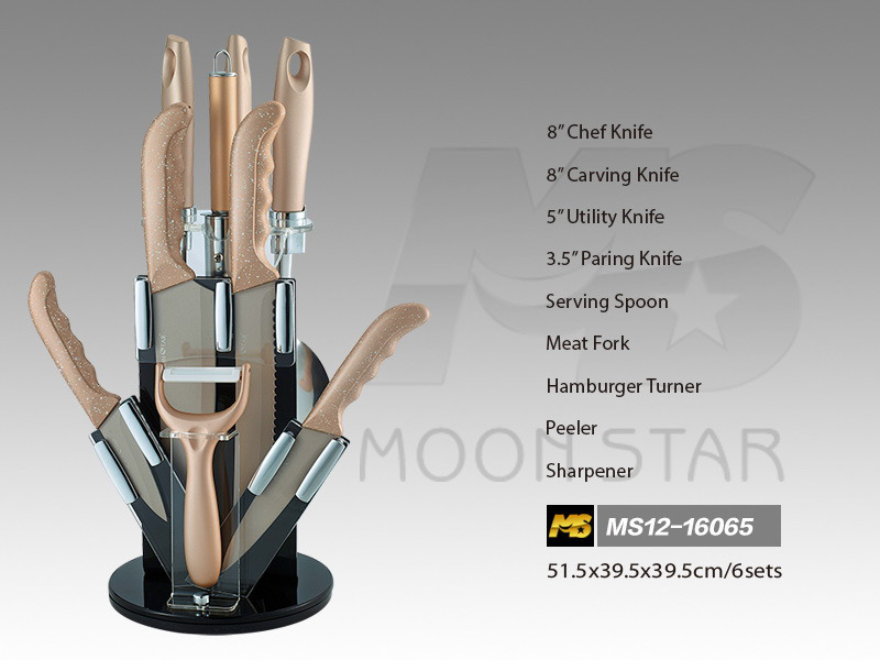 PP Handle Kitchen Knife (MS12-16065)