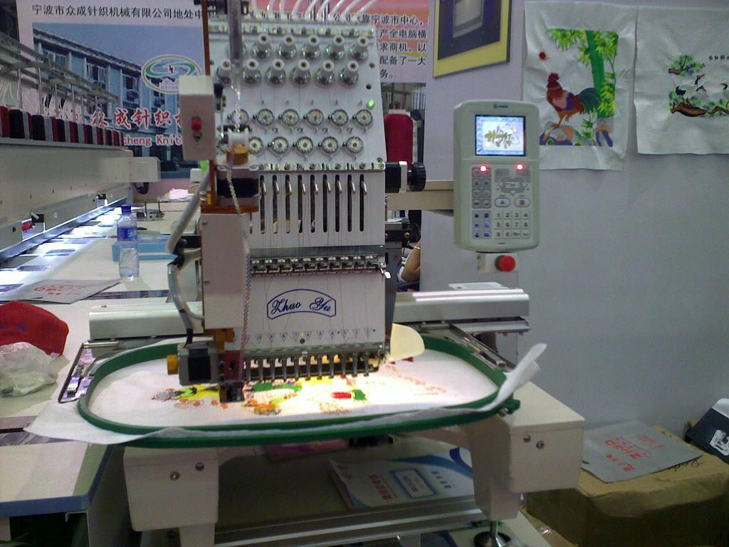 Single Head Embroidery Machines
