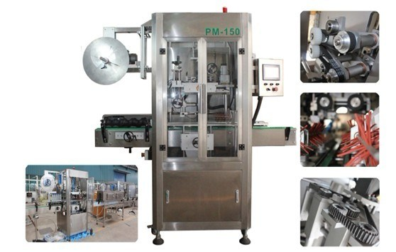 Labeling Machine / Automatic Sleeve Shrinking Labeling Machine