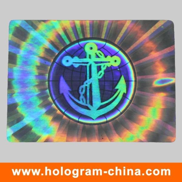 Anti-Fake 3D Security Hologram Sticker Label