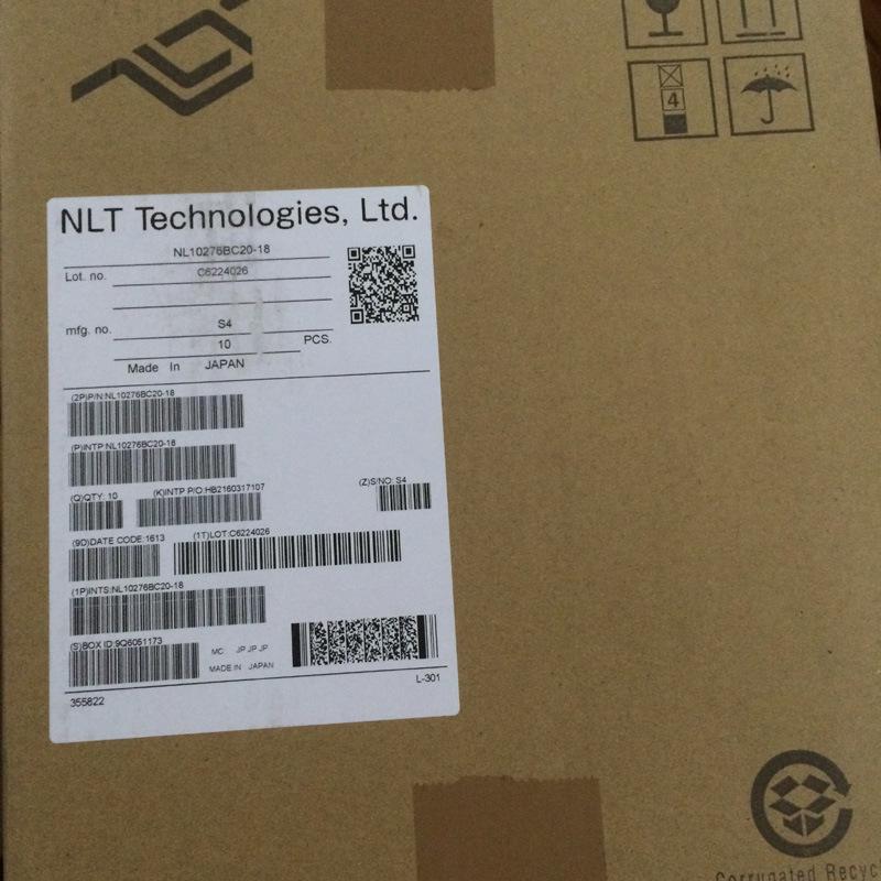"Nl10276bc20-18 Nlt 10.4"" Xga TFT LCD Display for industrial Application"