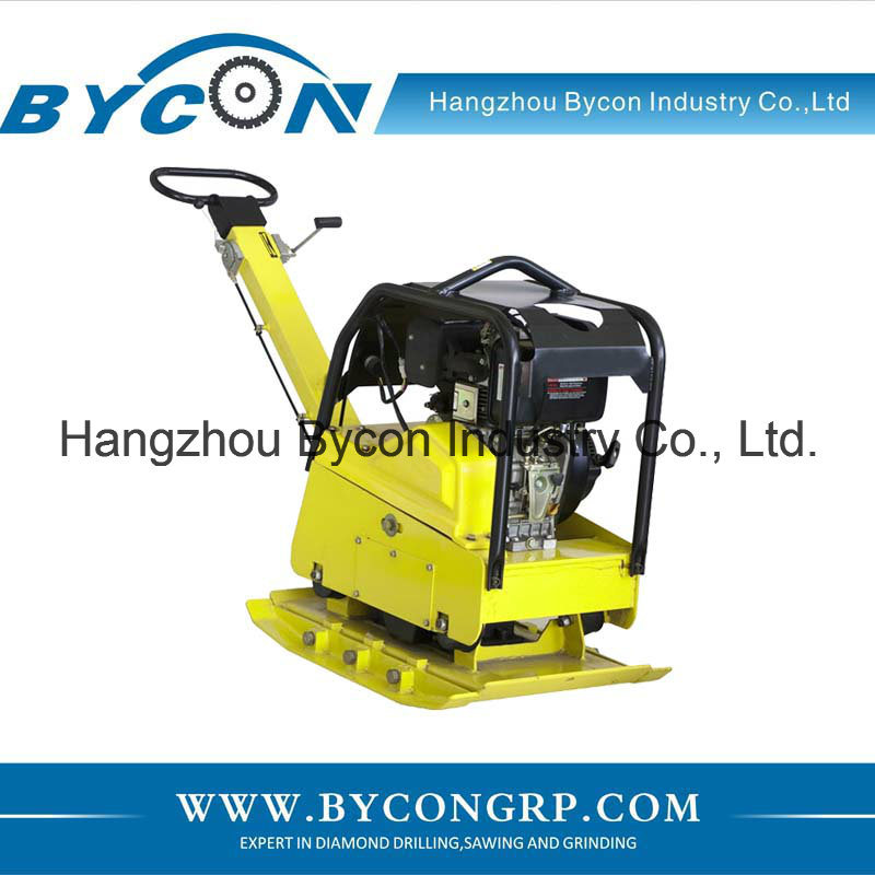 CBCR-330 construction machinery used vibration plate compactor Loncin equipment