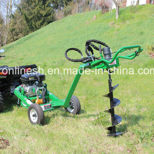 "Universal ATV/UTV/Truck Towable 9HP Hydraulic Earth Auger/Post Hole Digger 5′′/6′′/8""/10′′/12′′ Drill Auger Bit CE"