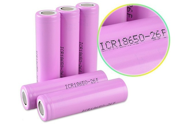 New 18650 Lithium Battery 2600mAh 3.7V Rechargeable Li-ion Battery