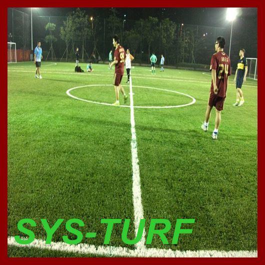 Football Soccer Monofilament Spine Shape Artificial Grass