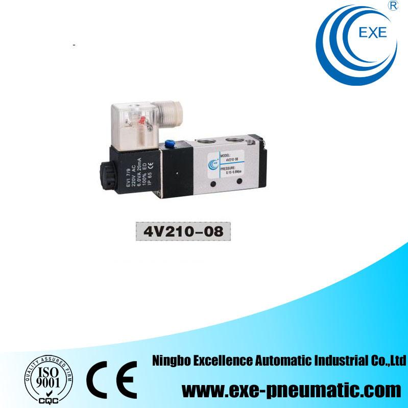 Exe Air Solenoid Valve 220V AC Aluminum Body 4V210-08