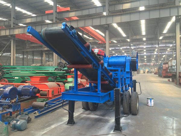 Stone Jaw Crusher, Rock Crusher, Mobile Crusher Plant