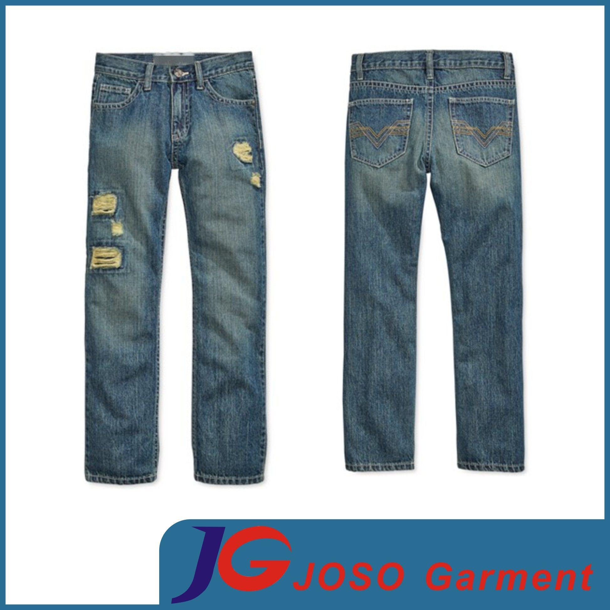 Destroyed Children Garment Jeans Boy Clothes (JC8044)