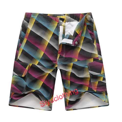 Colorful EU Beach Swimwear Summer Wear Shorts (S-1525)