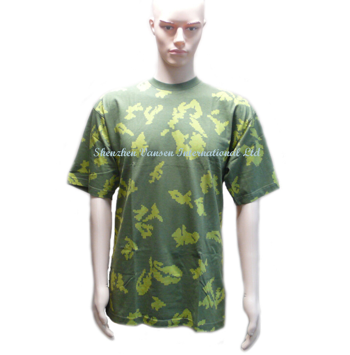 New Camouflage Pattern T-Shirt for Military