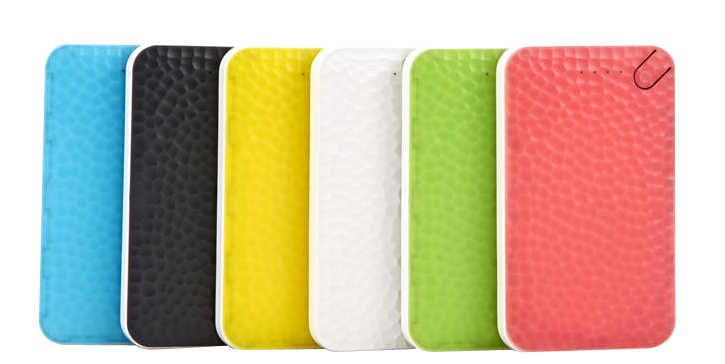 Mobile Phone Accessories - Power Bank Portable Battery Pack Li-Polymer 6000mAh