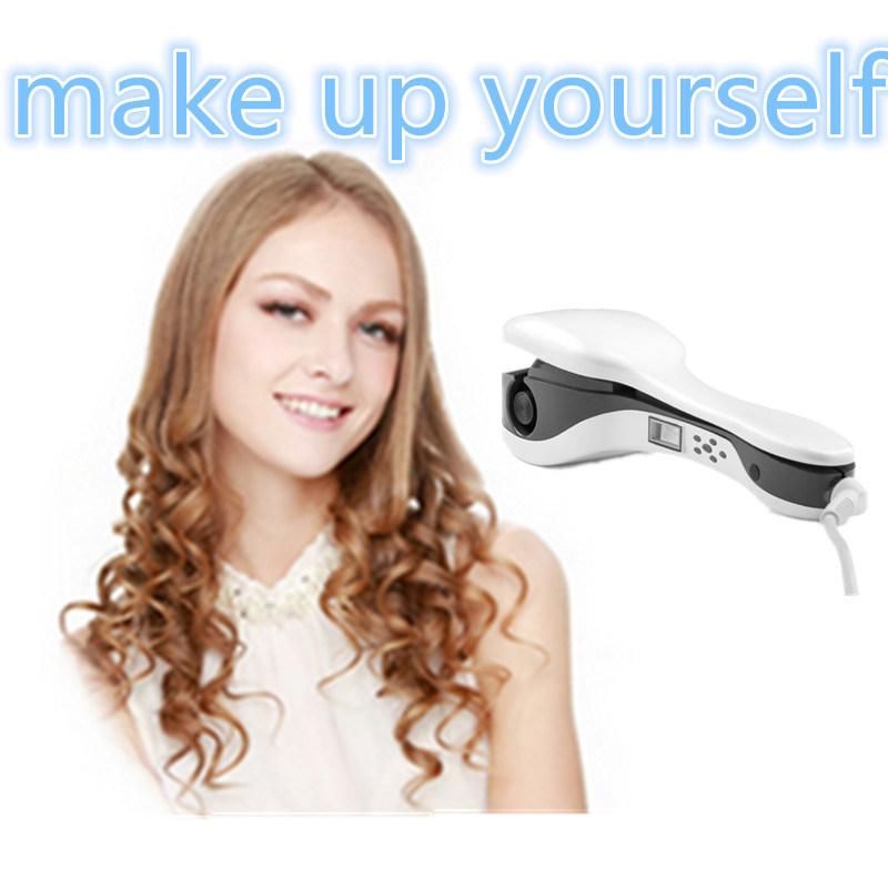 2016 New Stylish Automatic Fashion Hair Curler Ceramic LCD Display