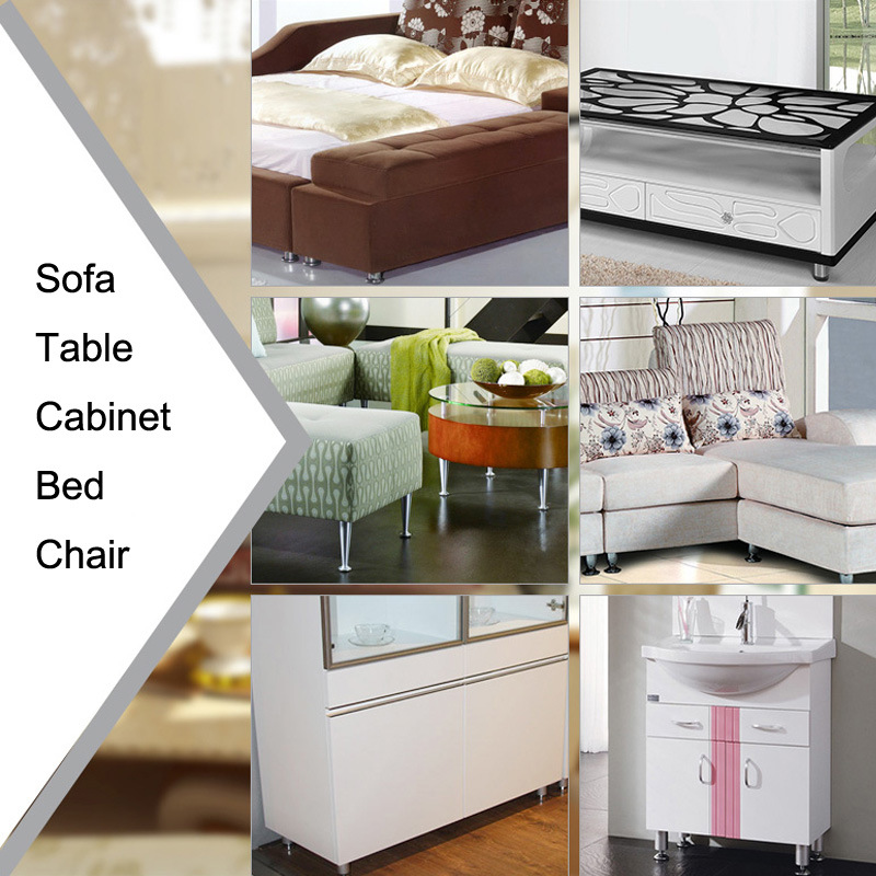 High Quality Stainless Steel Furniture Accessories Sofa Legs (T01)
