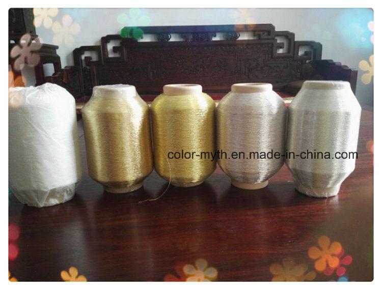 Pure Silver Pure Golden Metallic Yarn Lurex Yarn Zari