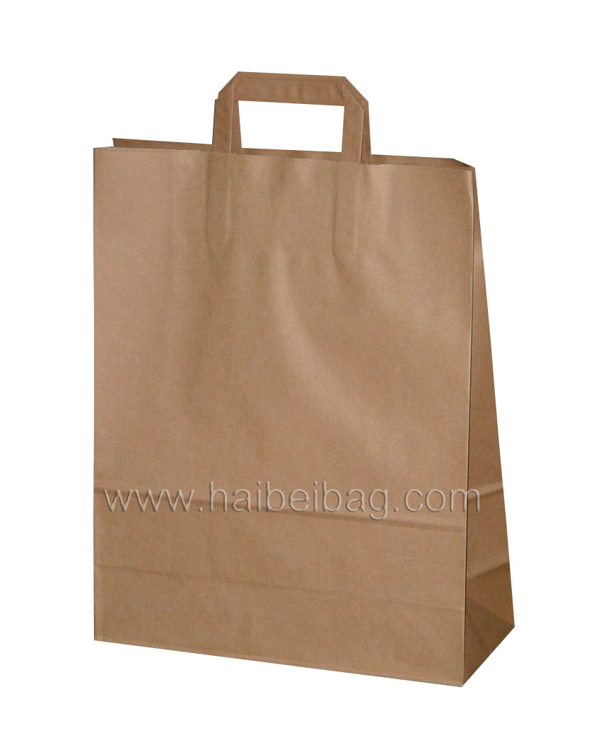 Promotional Paper Gift Bag, Brown Kraft Paper Bag, Shoe & Garment Carrier Bag, Boutique Suit Shopper Bag, Fashion Cosmetic Packing & Packaging Bag