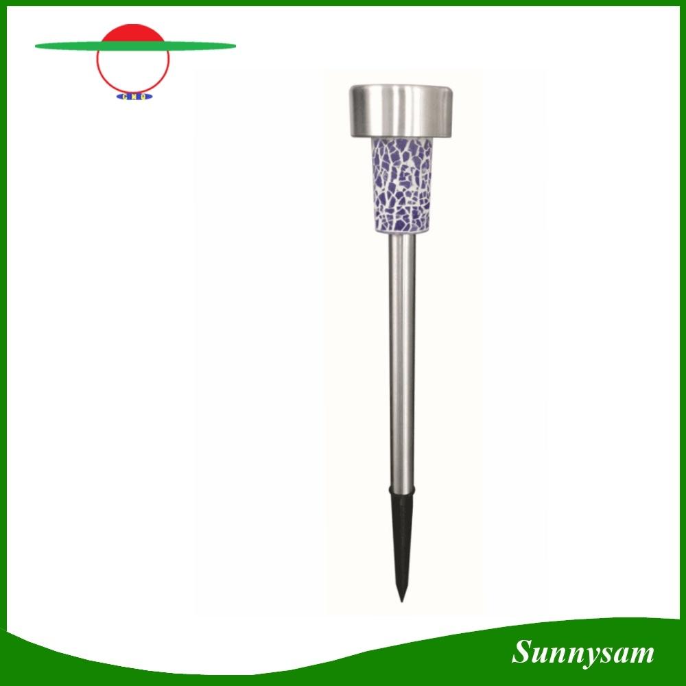 Solar Mosaic Stainless Steel Lights Solar Garden Light Solar Lawn Lamp