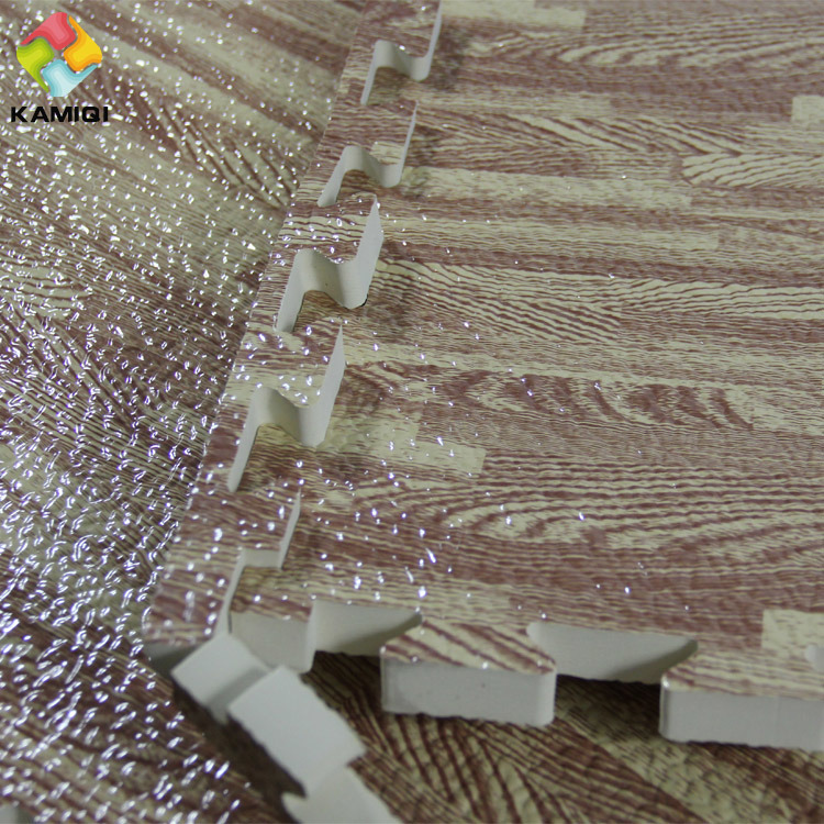 Best Materials Kamiqi EVA Foam Jigsaw Puzzle Mats Wood Grain