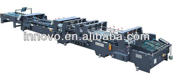 Zx-1400bft Automatic Crash Bottom Folder Gluer Machine