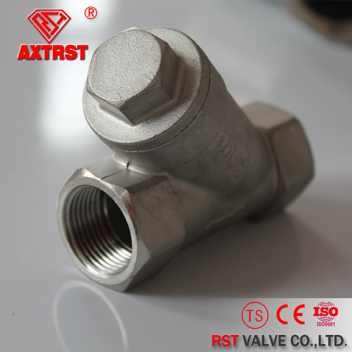 Stainless Steel Threaded (CF8/CF8M/WCB) 800psi Y Strainer