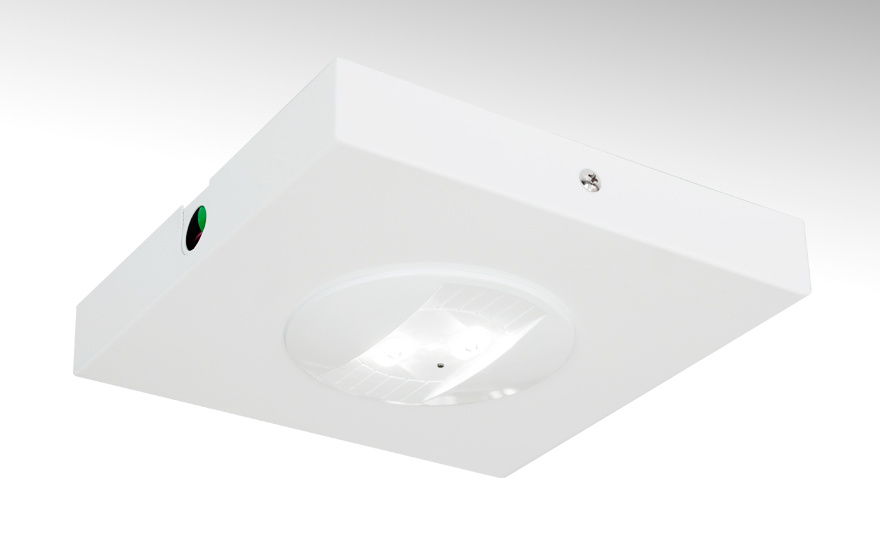 Self-Contained LED Emergency Downlight/Escape Route Downlights