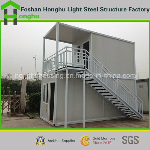 Prefabricated House Steeling Buildingoffice Container House 2 Floor for Sale