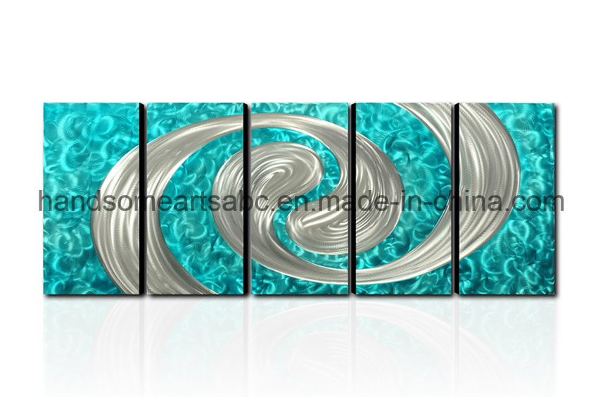 Abstract Design Metal Wall Art with 3D Effect for Decoration (CHB6014065)