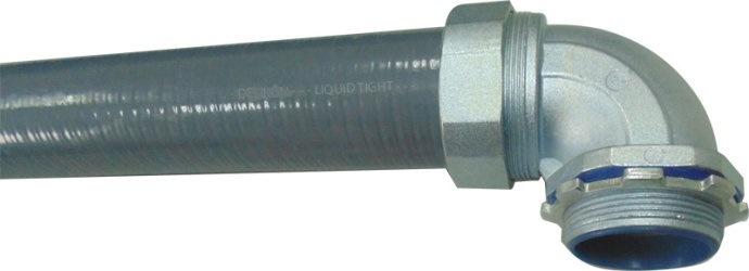Liqud Tight Connector Straight Zinc Alloy