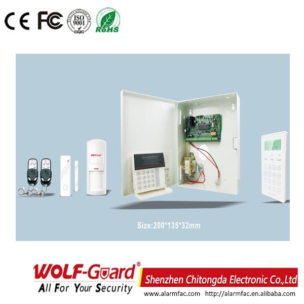 Business Auto Dial PSTN Alarm System Gx