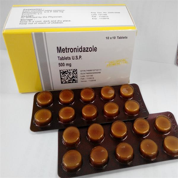 500mg Pharmaceutical Tablets-Metronidazole