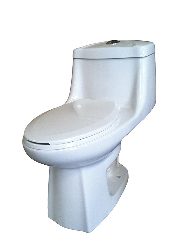 One Piece Toilet Siphonic Toilet Water Closet Wc 8820
