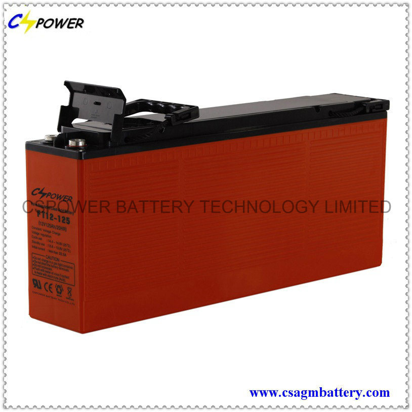12V100ah Front Terminal Battery for Telecom and UPS
