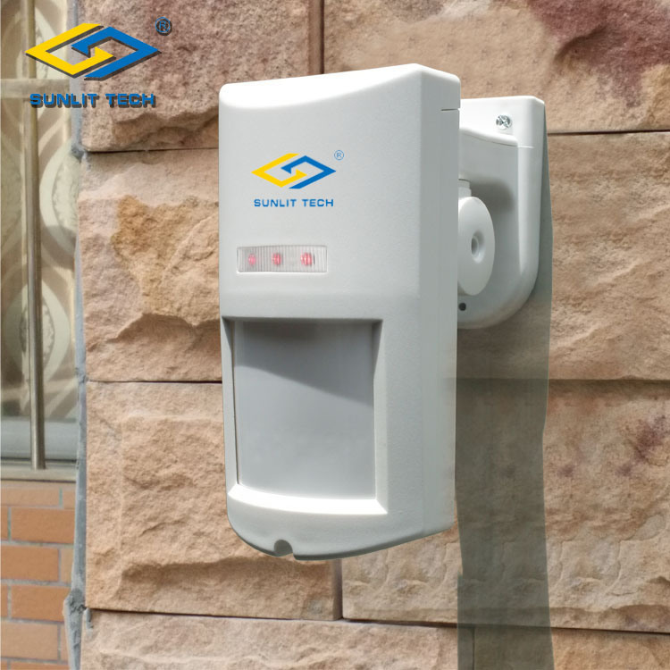 Wireless PIR Motion Sensor with Pet Immunity for Outdoor Detection (WOP-650)
