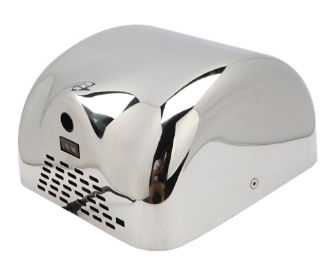 Wall Mounted 304stainless Steel Automatic High Speed Hand Dryer for Bathroom